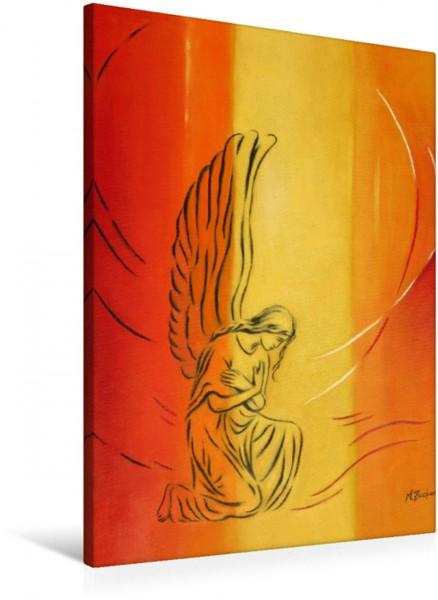 Wandbild Engel der Demut