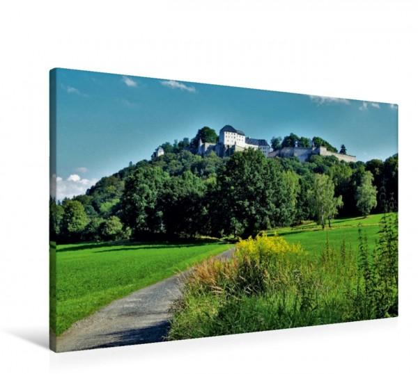 Wandbild Festung Königstein Sächsische Schweiz Sächsische Schweiz