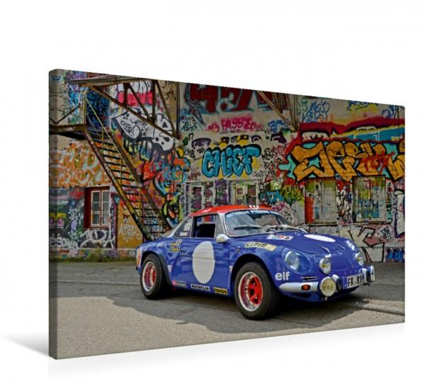 Wandbild Renault Alpine A110