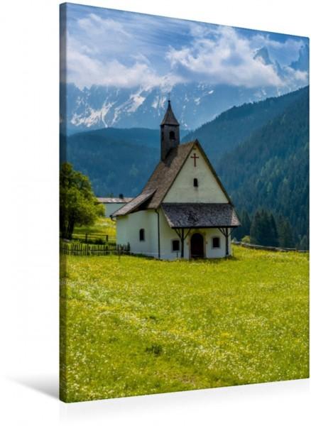 Wandbild WELSCHNOFEN St. Sebastian Kirchlein Idyllisches Bergdorf Idyllisches Bergdorf
