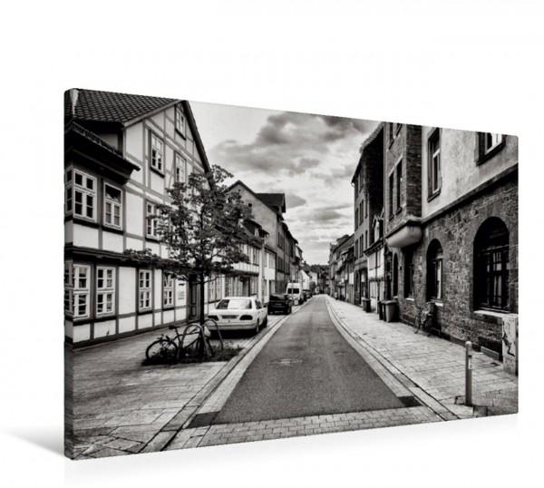 Wandbild Altstadt Lange-Geismar-Straße Stadt Göttingen in Niedersachsen Deutschland Stadt Göttingen in Niedersachsen Deutschland