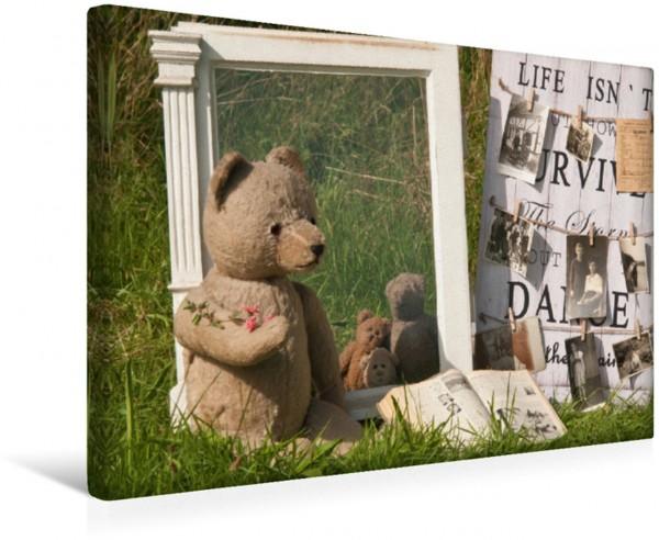 Wandbild Nostalgiebär Teddy Teddy