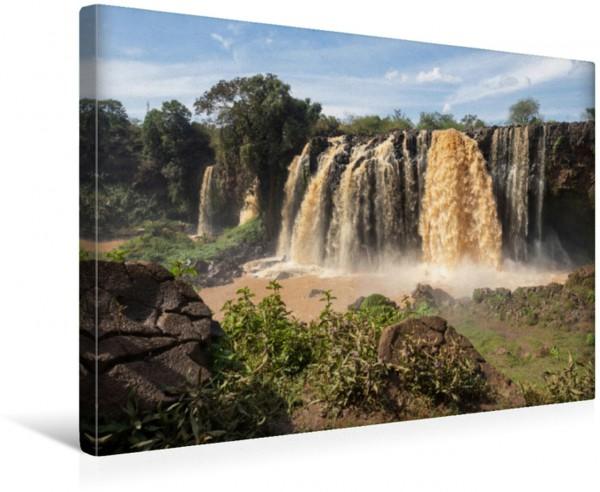 Wandbild Blue Nile Falls Tisissat-Wasserfälle bei Bahir Dar Tisissat-Wasserfälle bei Bahir Dar