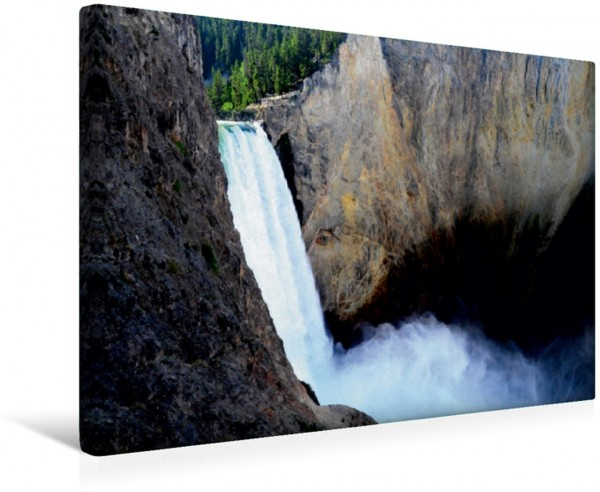 Wandbild Der Yellowstone Wasserfall Nationalparks der USA Nationalparks der USA