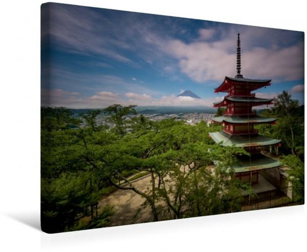 Wandbild Mount Fuji.
