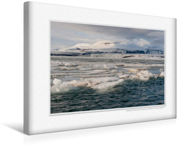 Wandbild Emotional Moments: Die Arktis. UK-Version