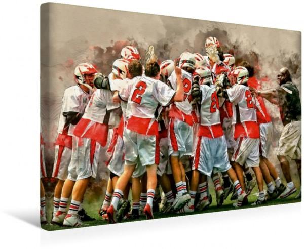 Wandbild Lacrosse Ich liebe Lacrosse von Peter Roder Ich liebe Lacrosse von Peter Roder