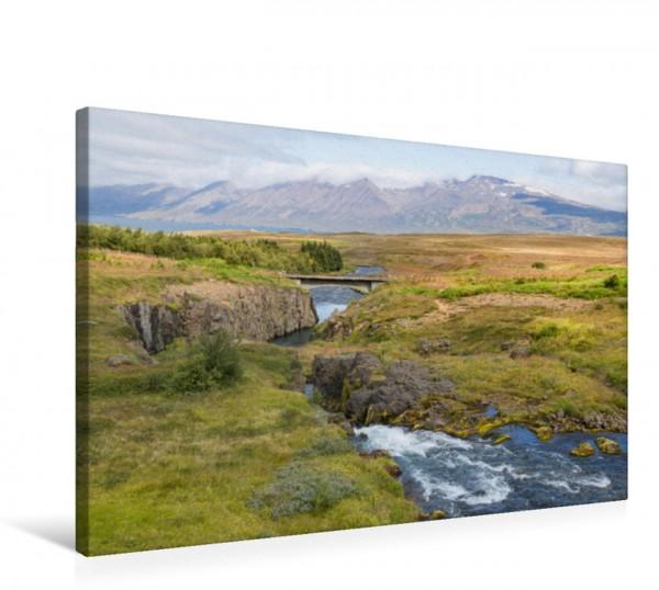 Wandbild Landschaft am Eyjafjörður traumhaftes Island traumhaftes Island