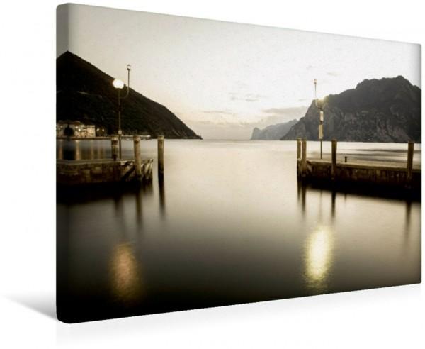 Wandbild Alter Hafen Torbole Gardasee Gardasee