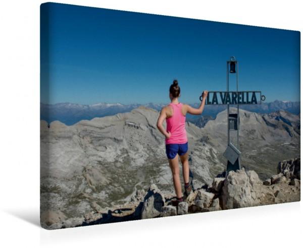 Wandbild Gipfelkreuz des La Varella