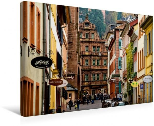 Wandbild Heidelberg-Altstadt - Haus Ritter