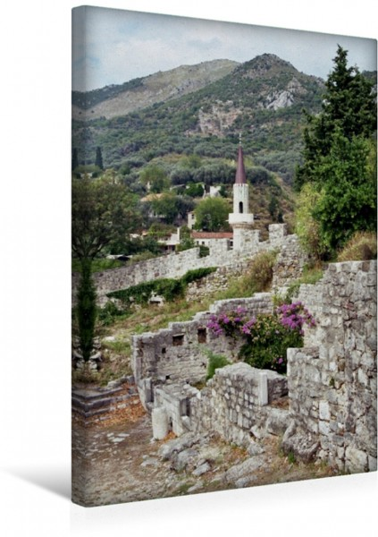 Wandbild Sagenhaftes Montenegro Ulcinj - Am Fuße der schwarzen Berge Ulcinj - Am Fuße der schwarzen Berge