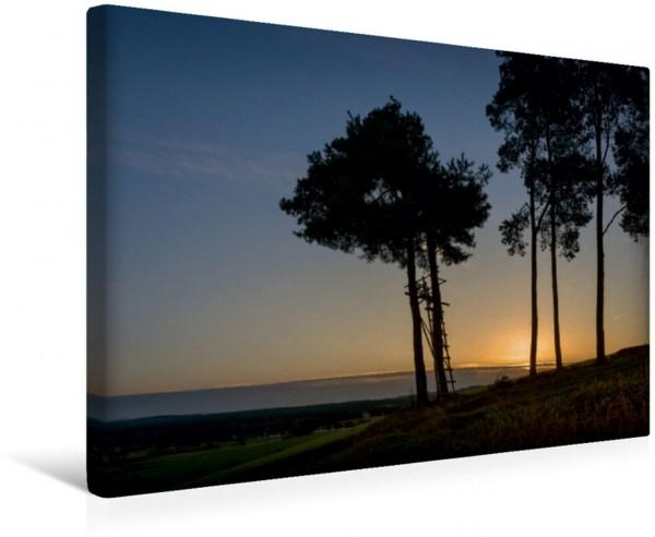 Wandbild Aussicht an der Windschnur Sonnenaufgang im Naabtal Sonnenaufgang im Naabtal