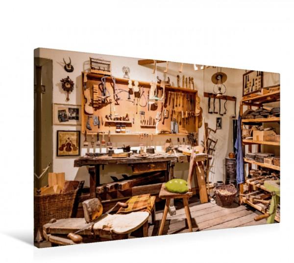 Wandbild Beim Geigenbauer Die Werkstatt eines Geigenbauers Die Werkstatt eines Geigenbauers
