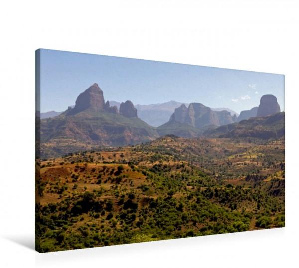 Wandbild Nordäthiopische Berglandschaft Semien Gebirge Semien Gebirge