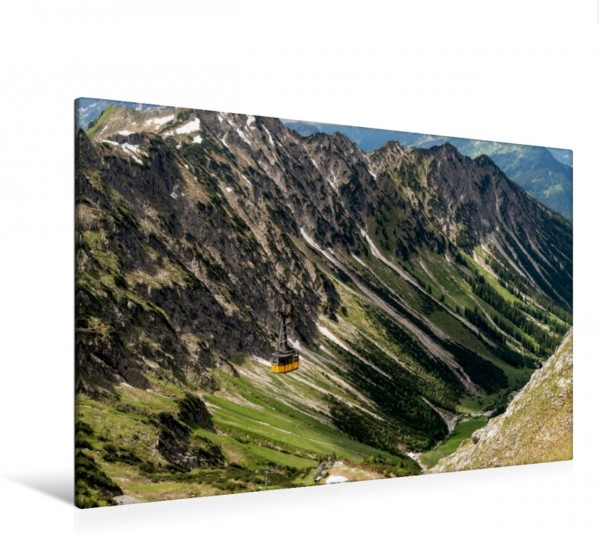 Wandbild Nebelhornbahn