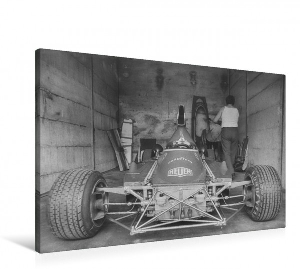 Wandbild bei Ferrari Nürburgring 1974 Nürburgring 1974