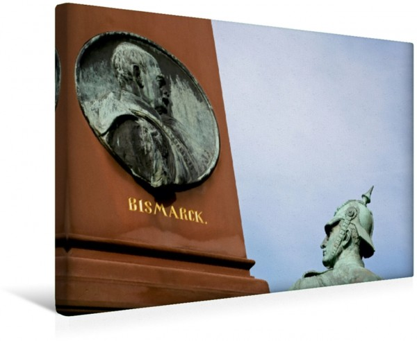 Wandbild Denkmal in Bad Pyrmont