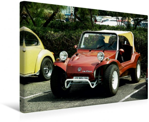 Wandbild Buggys - die Kultautos der 80er