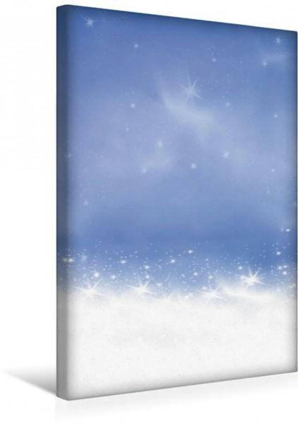 Wandbild Winterlandschaft abstrakt