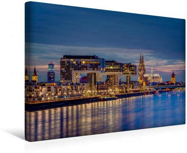 Wandbild Kölns südliches Panorama