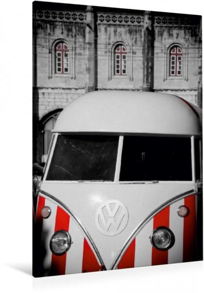 Wandbild Eiswagen in Lissabon