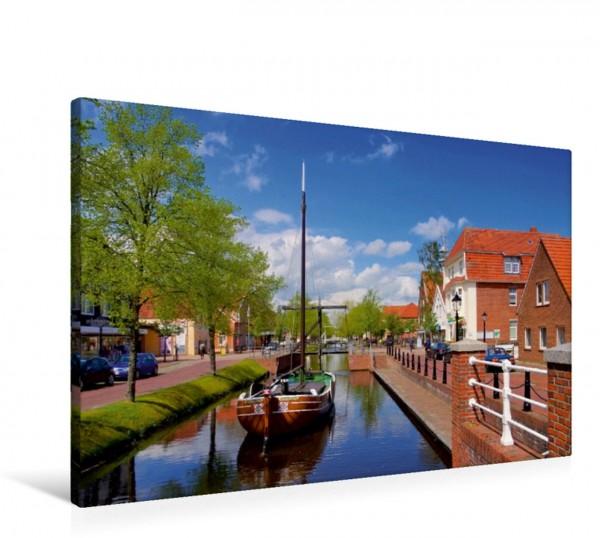 Wandbild Kanal in Papenburg
