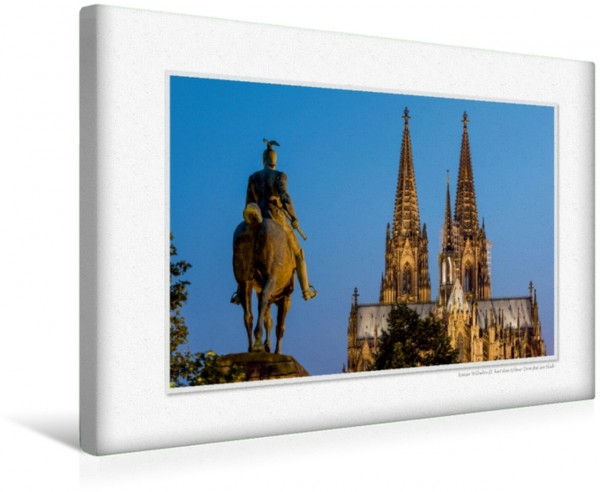 Wandbild Emotionale Momente: Kölner Ansichten. CH-Version