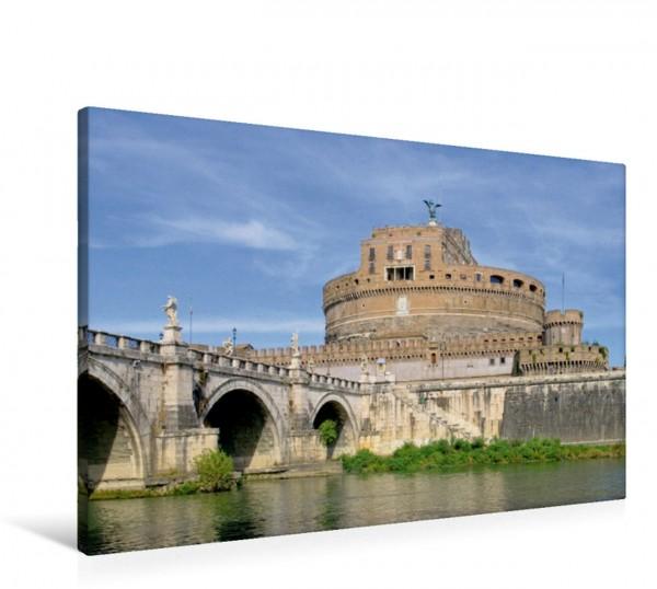 Wandbild Engelsburg Rom - Die Ewige Stadt Rom - Die Ewige Stadt