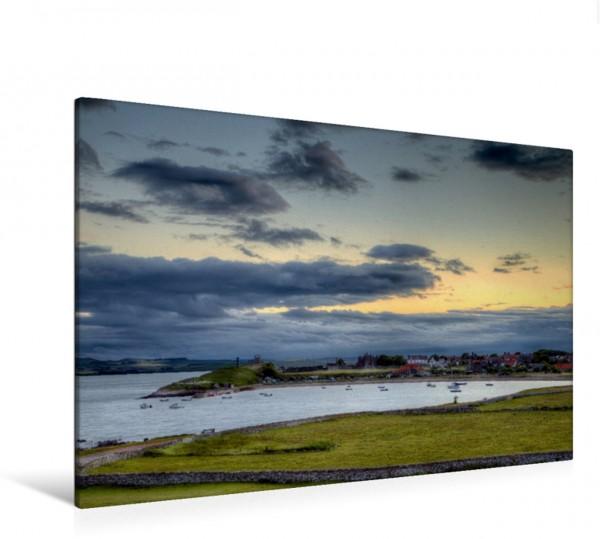 Wandbild Die Lindisfarne von Holy Island