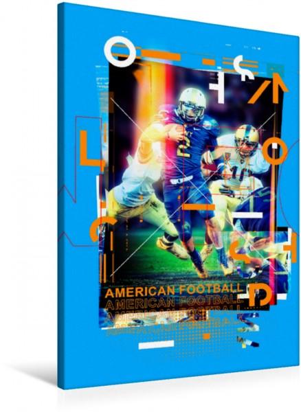Wandbild American Football