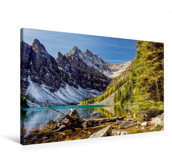 Wandbild Lake Agnes, Alberta
