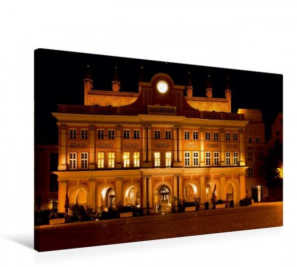 Wandbild Rathaus Rostock Rostock