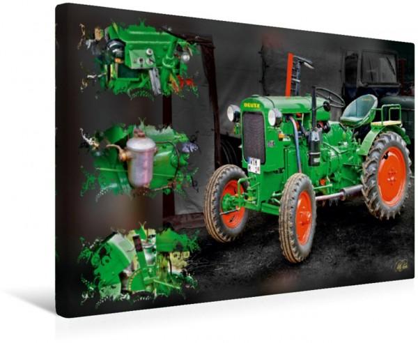 Wandbild Oldtimer Traktor Deutz Oldtimer - Traktoren von Peter Roder Oldtimer - Traktoren von Peter Roder