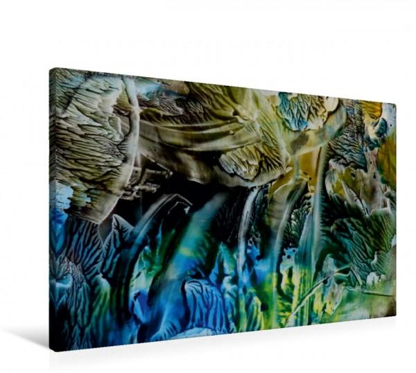 Wandbild Dschungel unter Wasser Geheimnisvolle Unterwasserwelt Geheimnisvolle Unterwasserwelt
