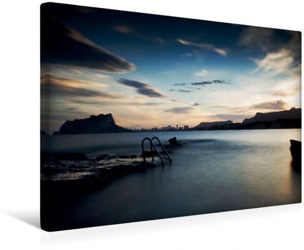 Wandbild Cap Blanc Sonnenuntergang Costa Blanca Costa Blanca