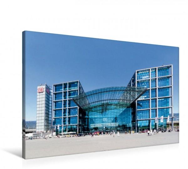 Wandbild Hauptstadt Hauptbahnhof – Der 2006 eingeweihte Berliner Hauptbahnhof gilt als einer der modernsten seiner Art. Perfekt gelegen im Regierungsviertel direkt an der Spree. Perfekt gelegen im Reg
