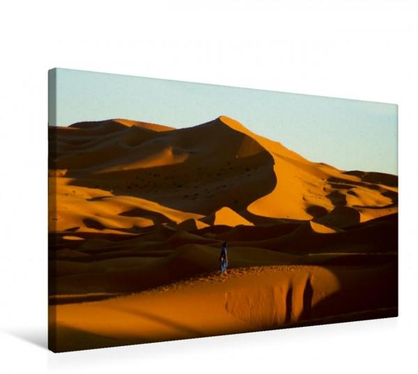 Wandbild Die wilden Sanddünen glühen