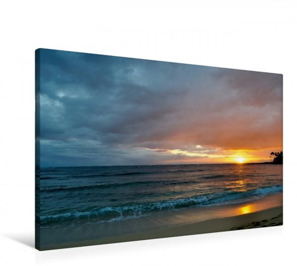 Wandbild Sunset, Kauai - Hawaii