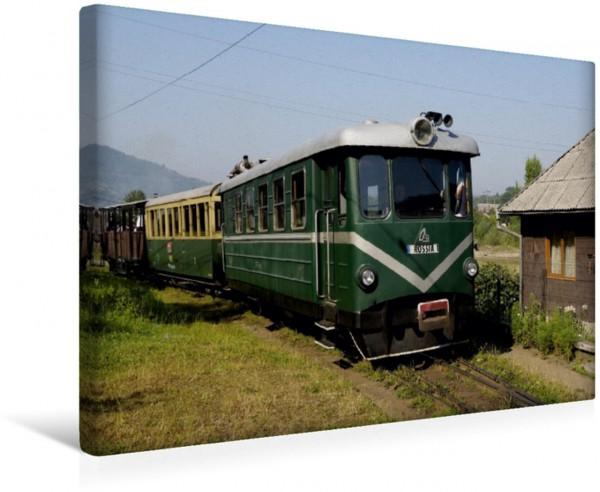 Wandbild Der Triebwagen Rossia der Wassertalbahn