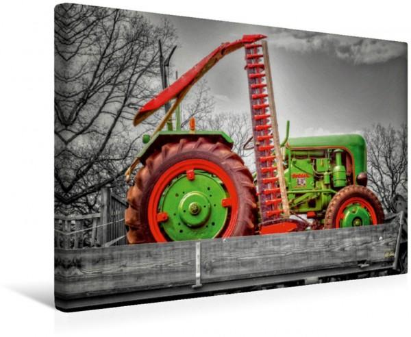 Wandbild Oldtimer Traktor Holder Traktoren - Oldtimer Traktoren - Oldtimer