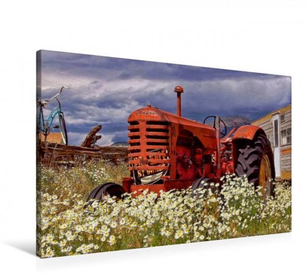 Wandbild Traktoren - game over