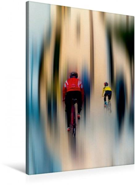 Wandbild Radsport - abstrakt