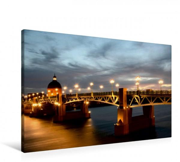 Wandbild Pont Saint-Pierre in Toulouse