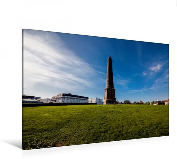 Wandbild Borkum - Neuer Leuchtturm