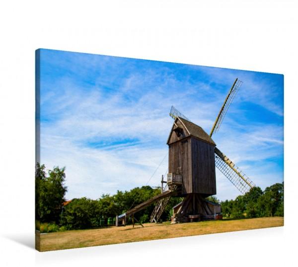 Wandbild Windmühlen an der westfälischen Mühlenstraße