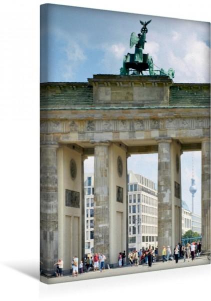 Wandbild BERLIN Brandenburger Tor Das Wahrzeichen der Stadt Das Wahrzeichen der Stadt