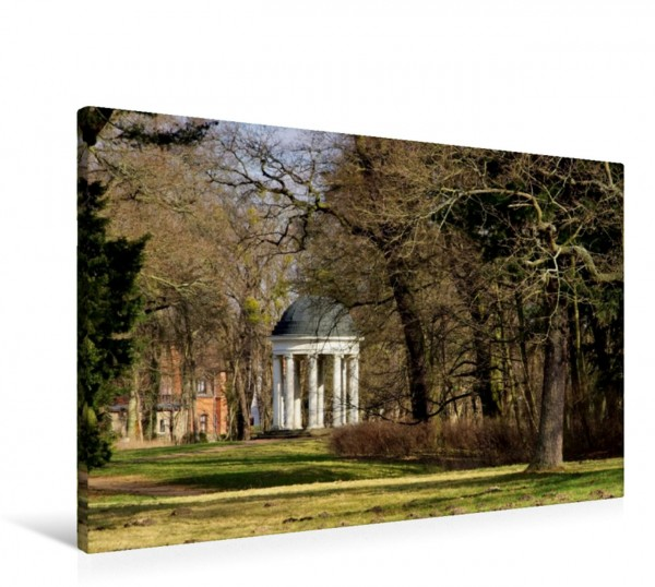 Wandbild Ionischer Tempel im Park Georgium Dessau Dessau