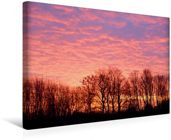 Wandbild Der Himmel glüht