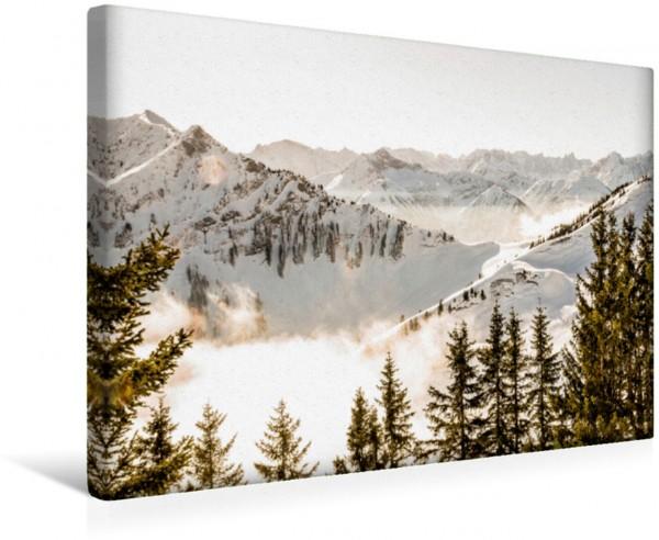 Wandbild Berge - Die Schönheit der Alpen